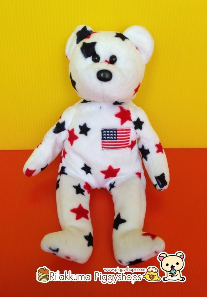 TY Beanie Baby - GLORY the Star Bear - ?Rilakkuma Piggyshops ...