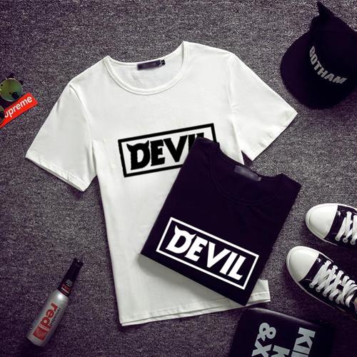 เสื้อยืด SJ SUPER JUNIOR Devil สีขาว