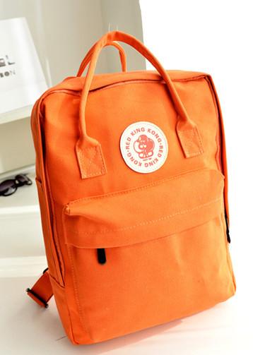 กระเป๋าแฟชั่น กระเป๋า red king kong สีส้ม