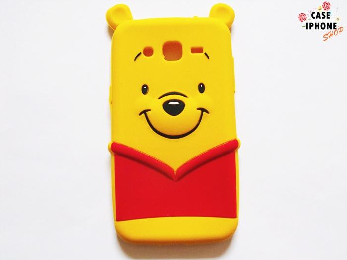 เคสซิลิโคน 3D Pooh ซัมซุง J1