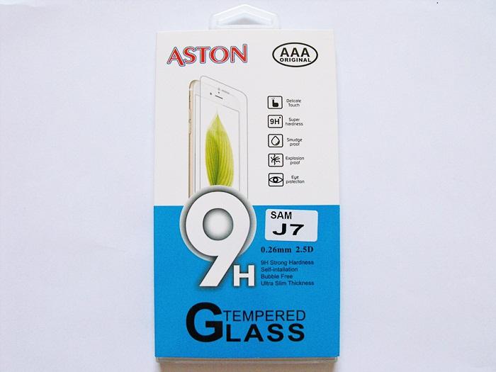 ฟิล์มกระจก Samsung J7 (ASTON)