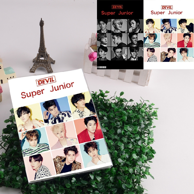สมุด SJ SUPER JUNIOR Devil 2015
