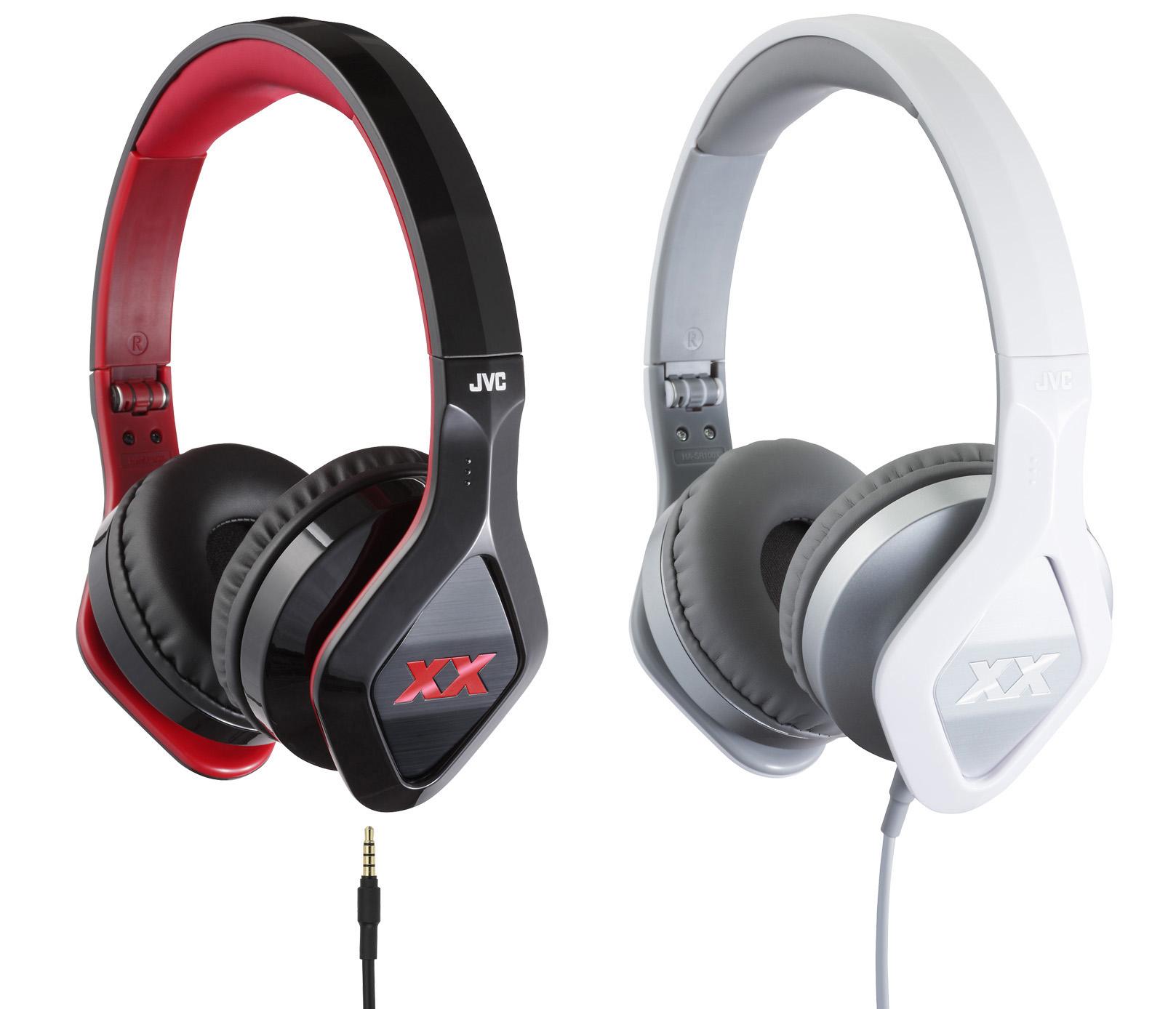 หูฟัง JVC HA-SR-100X XX Series รูปทรงล้ำสมัย เบสหนักแน่น พับได้ ถอดสายได้