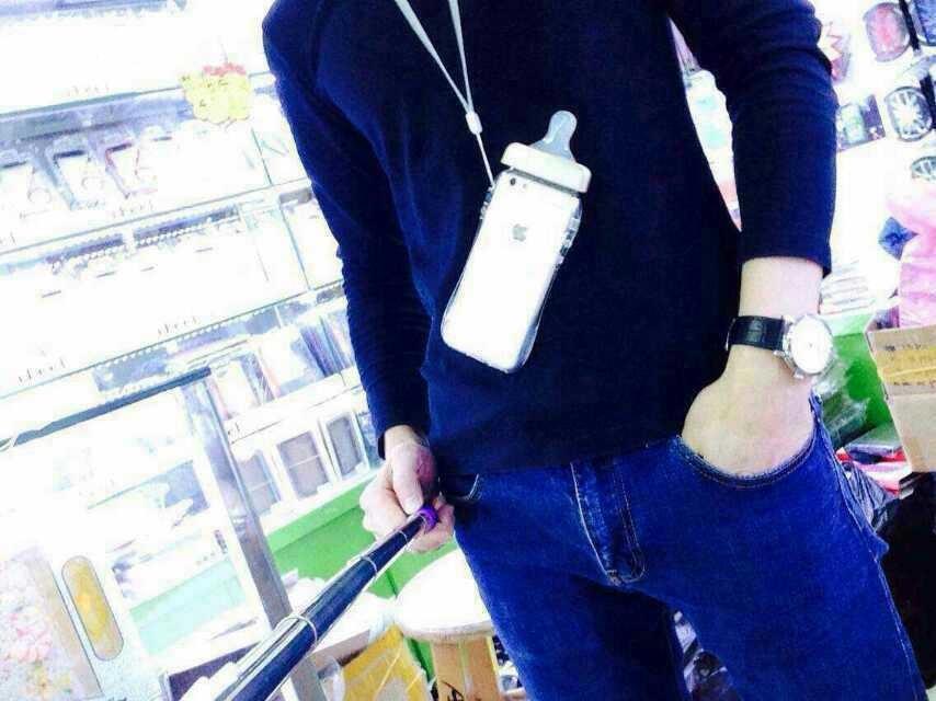 เคสขวดนมมีสายคล้องคอ ไอโฟน 6 4.7 นิ้ว