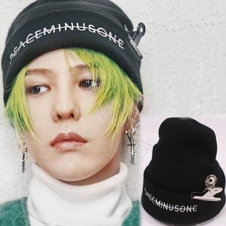 หมวกไหมพรม Peaceminusone แบบ GD ใน MV FXXK IT
