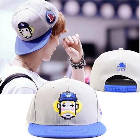 หมวกแฟชั่น EXO LUHAN การ์ตูน