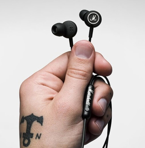 Marshall Mode หูฟัง Inear พร้อมไมค์ เบสแน่น ฟังสนุก ใส่สบาย Hybrid Inear