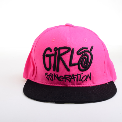 หมวกแฟชั่น SNSD สีชมพู