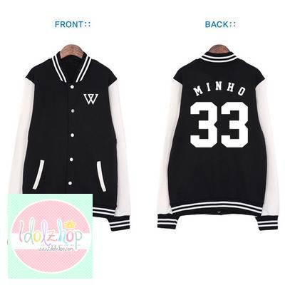 เสื้อเบสบอล WINNER YG 2014 MINHO 33