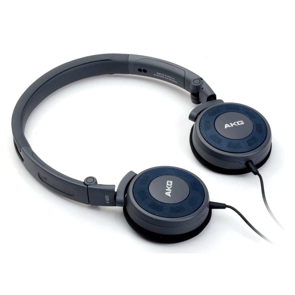หูฟัง AKG K420 Onear พับได้ ตำนานแห่งออนเอียร์ เสียงระดับพรีเมี่ยม ราคาประหยัด