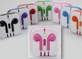 แพ็คคู่หูฟัง iPhone ear phone Small Talk สีแฟชั่น