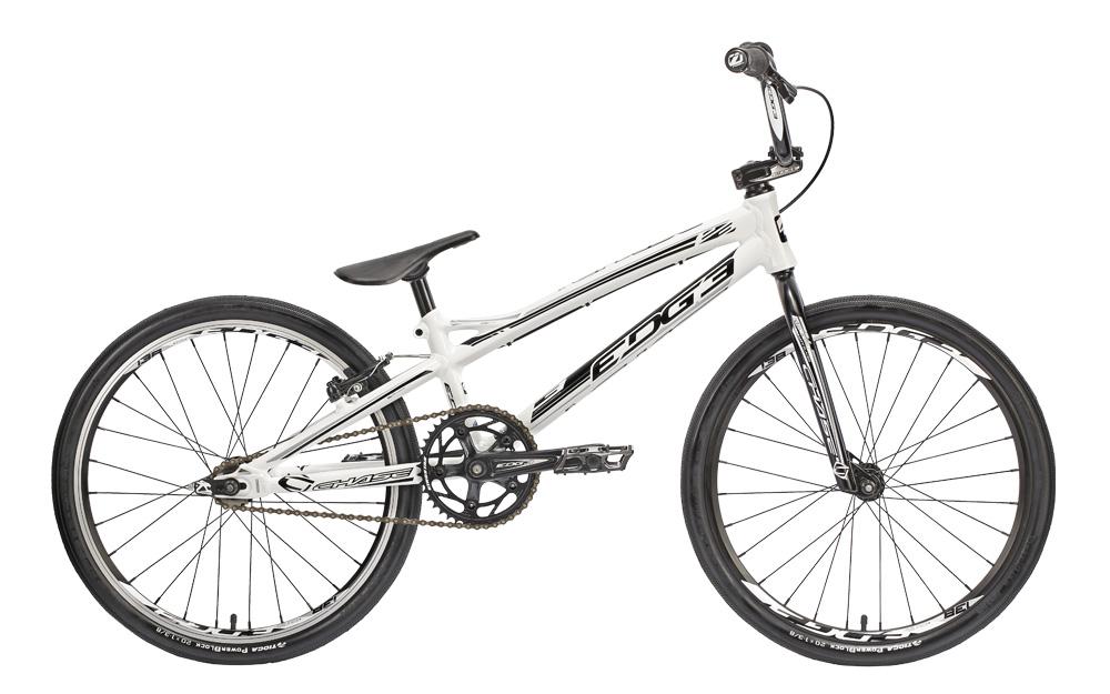 CHASE 2015 BMX Complete Bike EDGE Junior alu White