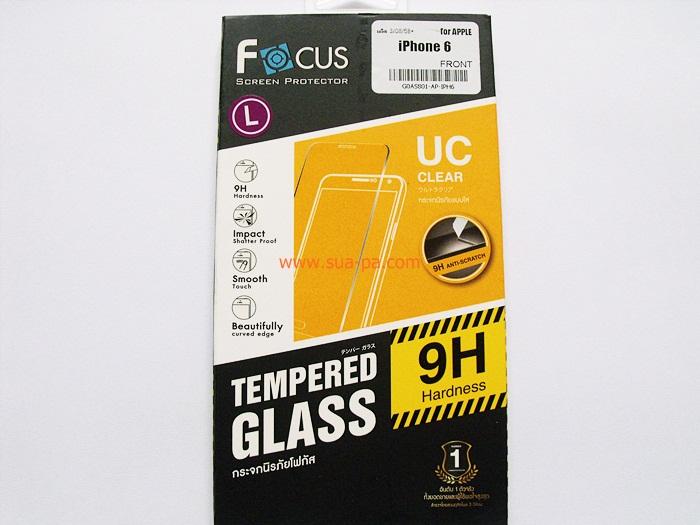 ฟิล์มกระจกนิรภัย โฟกัส (Focus) Iphone6 - 4.7
