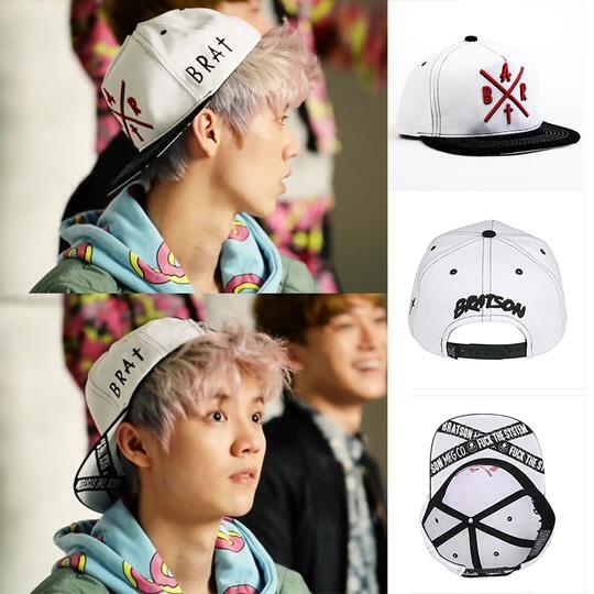 หมวกแฟชั่น BRATSON BRAT HC Sign EXO LUHAN
