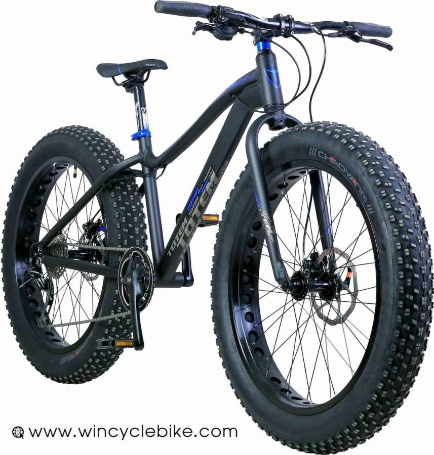 จักรยานล้อโต TOTEM 10 สปีด ดิสน้ำมัน ดุมแบร์ริ่ง ล้อ 26x4.9 ปี 2016