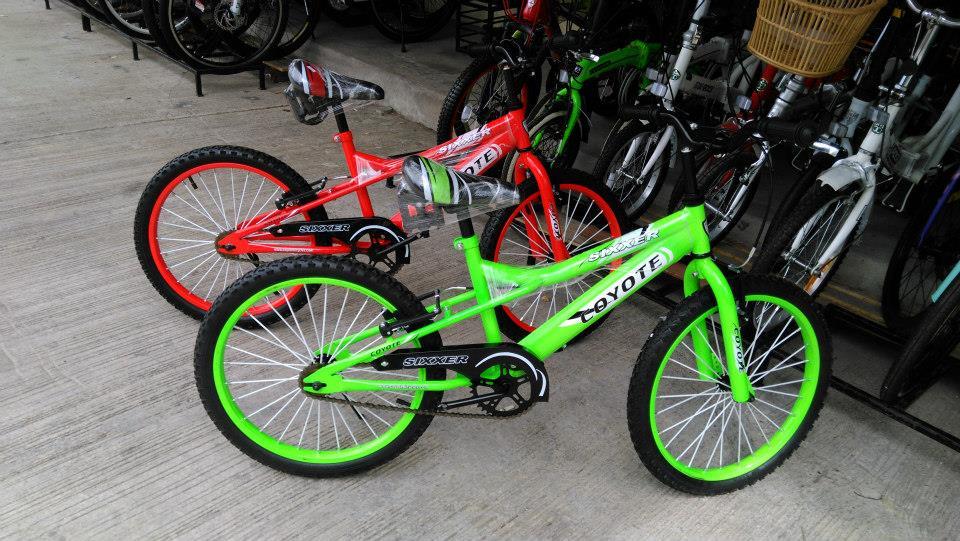 จักรยานเสือภูเขาเด็ก COYOTE SIXXER ล้อ 20 นิ้ว เฟรมเหล็ก