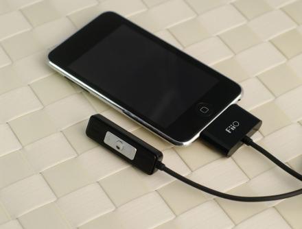 ขาย FiiO E1 แอมป์พกพา รีโมท พร้อมสาย Dock สำหรับ iPod / iPad / iPhone