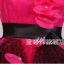 พร้อมเช่า ชุดแฟนซี ชุดราตรียาว แบบสายเดี่ยว สีชมพูเข้ม แต่งดอกช่วงอก ผ้าคาดเอวสีดำผูกเป็นโบว์เก๋ แต่งผ้าตาข่ายสีดำ (ไม่รวมโบว์ติดผม) thumbnail 9