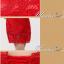 พร้อมเช่า ชุดราตรียาว สีแดง ลูกไม้ทัั้งตัว เปิดไหล่ แขนสามส่วน thumbnail 12