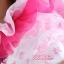 พร้อมเช่า ชุดแฟนซี ชุดราตรียาว สีเขียวอ่อน Cherry Blossom แต่งระบายสีชมพู ปักเลื่อมละเอียด thumbnail 9