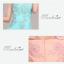 พร้อมเช่า ชุดราตรียาว ผ้าชีฟอง สีฟ้า ปักลูกไม้และแต่งลูกปัด สวยหรู thumbnail 9