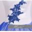 พร้อมเช่า ชุดแฟนซี ชุดราตรียาว ชุดจีน กี่เพ้า สีขาว น้ำเงิน แบบเก๋ thumbnail 8