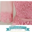 พร้อมเช่า ชุดราตรียาว แขนยาว สีชมพู Nude แต่งลูกไม้ช่วงอก กระโปรงผ้าตาข่าย สวยหวานน่ารักมาก โชว์หลัง (เชือกผูกหลัง) thumbnail 5
