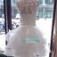 พร้อมเช่า ชุดแฟนซี ชุดเจ้าสาว ชุดราตรีสั้น แขนกุด สีขาว กระโปรงระบาย แต่งลูกไม้ปักเลื่อม น่ารักมาก (ซิปหลัง แต่งกระดุม) thumbnail 15