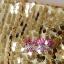 พร้อมเช่า ชุดแฟนซี เช่า 500 ชุดราตรีสั้น เกาะอก สีทอง ผ้าปักเลื่อม กระโปรงสุ่ม Tutu thumbnail 6