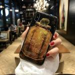 เคส iPhone X พลาสติก TPU สกรีนลายสวยงามมาก สามารถดึงกางออกมาตั้งได้ แบบที่ 2
