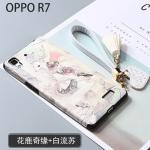 เคส OPPO R7 Lite / R7 พลาสติกสกรีนลายกราฟฟิกน่ารักๆ ไม่ซ้ำใคร สวยงามมาก แบบที่ 7