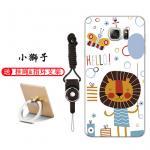 เคส Samsung Note 5 ซิลิโคน soft case สกรีนลายการ์ตูนพร้อมแหวนและสายคล้อง (รูปแบบแล้วแต่ร้านจีนแถมมา) น่ารักมาก แบบที่ 2