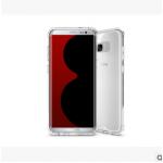 เคส Samsung S8 พลาสติกโปร่งใส Crystal Clear ขอบปกป้องสวยงาม แบบที่ 2