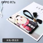 เคส OPPO R7S พลาสติกสกรีนลายกราฟฟิกน่ารักๆ ไม่ซ้ำใคร สวยงามมาก ราคาถูก (ไม่รวมสายคล้อง) แบบที่ 1
