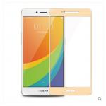 สำหรับ oppo r7s ฟิล์มกระจกนิรภัยป้องกันหน้าจอ 9H Tempered Glass 2.5D (ขอบโค้งมน) HD Anti-fingerprint แบบที่ 2
