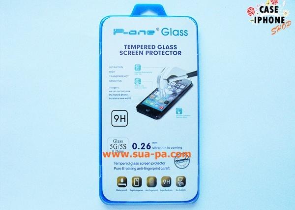 ฟิล์มกันรอย กระจกนิรภัย กันกระแทก ป้องกันจอแตก Iphone 5/5S