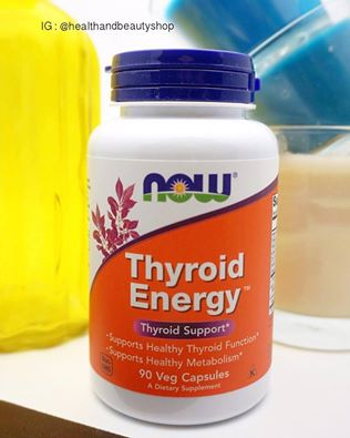 Now Foods, Thyroid Energy, Thyroid Support, 90 Veggie Caps