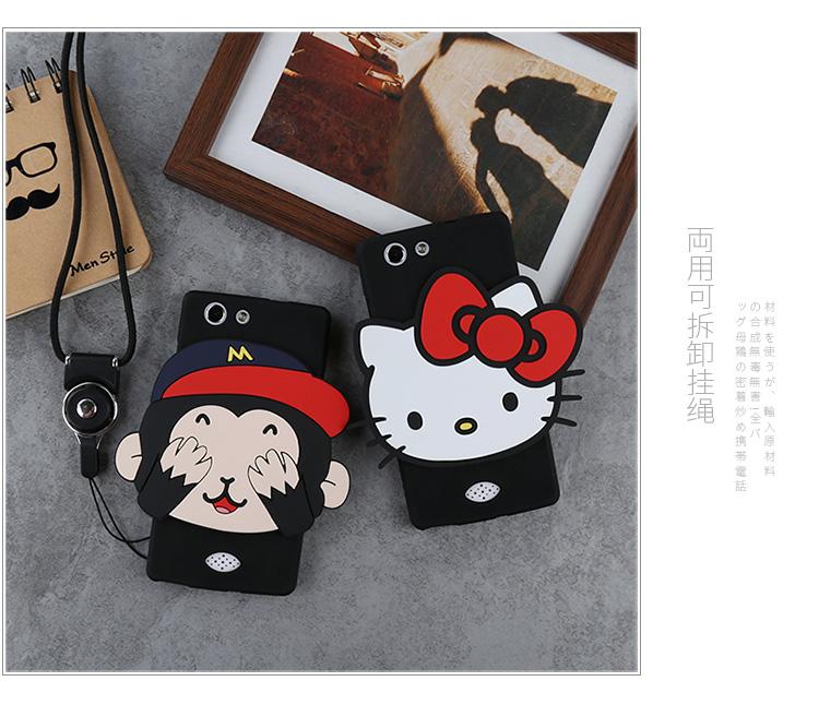 Case Oppo Joy 5 / Neo 5s ซิลิโคน soft case การ์ตูนน่ารักๆ สุดฮิต ราคาถูก (ไม่รวมสายคล้อง)