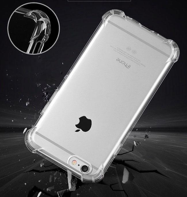 TPU นิ่ม ใส กันกระแทกมุม iphone6plus/6splus 5.5นิ้ว(ใช้ภาพรุ่นอื่นแทน)