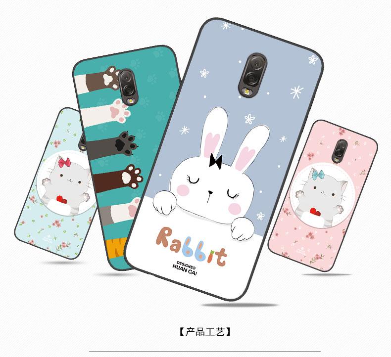 เคส Samsung J7+ (J7 Plus) ซิลิโคน soft case สกรีนลายการ์ตูนพร้อมแหวนและสายคล้อง (รูปแบบแล้วแต่ร้านจีนแถมมา) น่ารักมาก ราคาถูก
