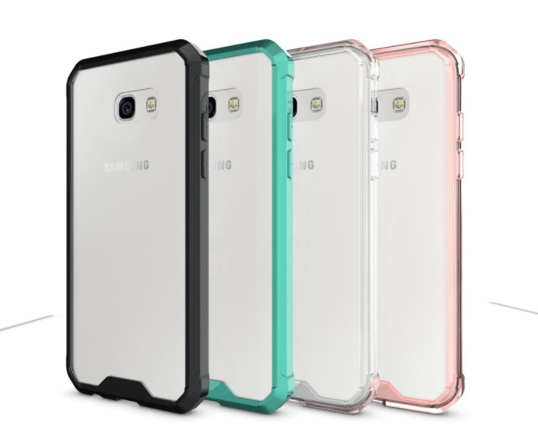 เคส Samsung A7 2017 พลาสติกโปร่งใส Crystal Clear ขอบปกป้องสวยงาม ราคาถูก