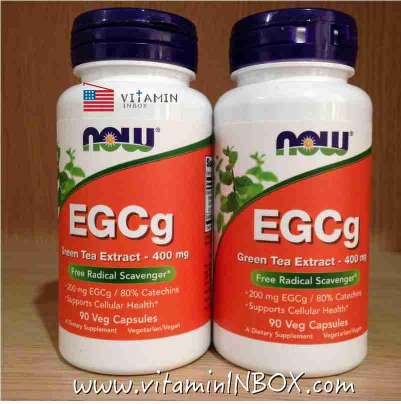 Now Foods, EGCg, Green Tea Extract, 90 Vcaps