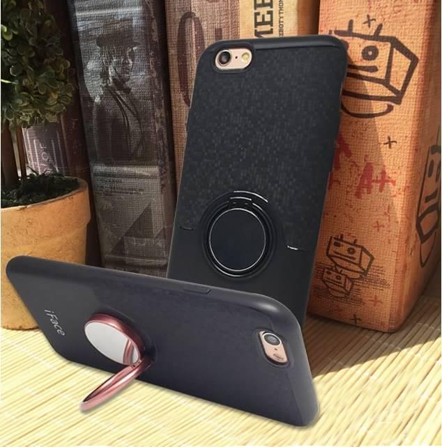 เคส ไอโฟน6plus/6s plus5.5นิ้ว tpuติดแหวน iFace