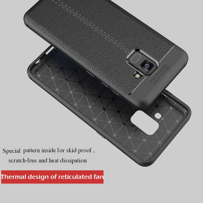 เคส ซัมซุง A8Plus(2018)ลายหนัง auto focus(ใช่ภาพรุ่นอื่นแทน)