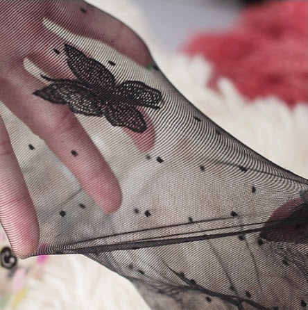 [พร้อมส่ง] L3261 ถุงน่องลาย ผีเสื้อ Cute Butterfly