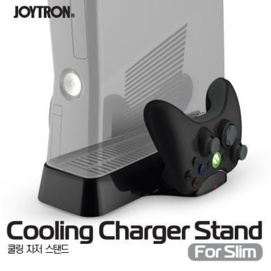 ชุดฐานตั้ง+พัดลม+ชาร์ทจอยสำหรับ XBOX360 Slim