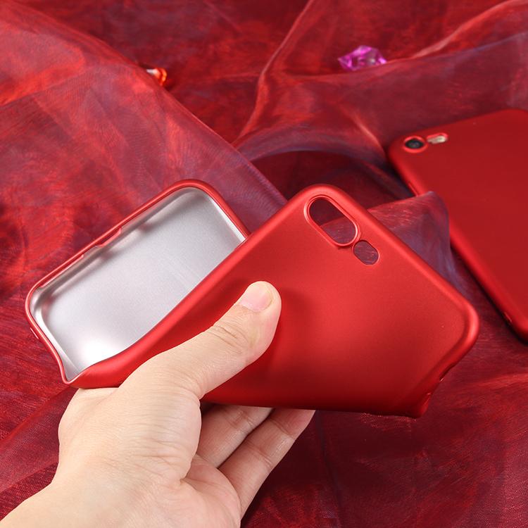 เคสนิ่มสีแดงพิเศษเนื้อกำมะหยี่OPPO R9S Plus(ใช้ภาพรุ่นอื่นแทน)