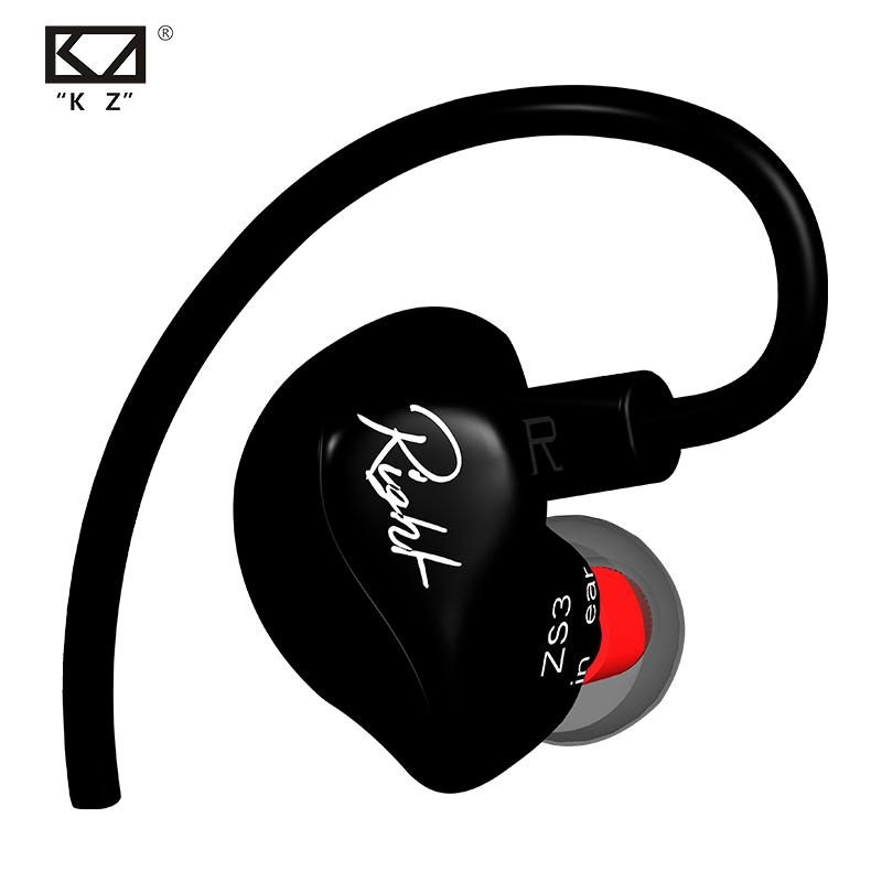 ขายหูฟัง KZ ZS3 หูฟังแบบมอนิเตอร์ ถอดสายเปลี่ยนได้ คุณภาพระดับมืออาชีพ