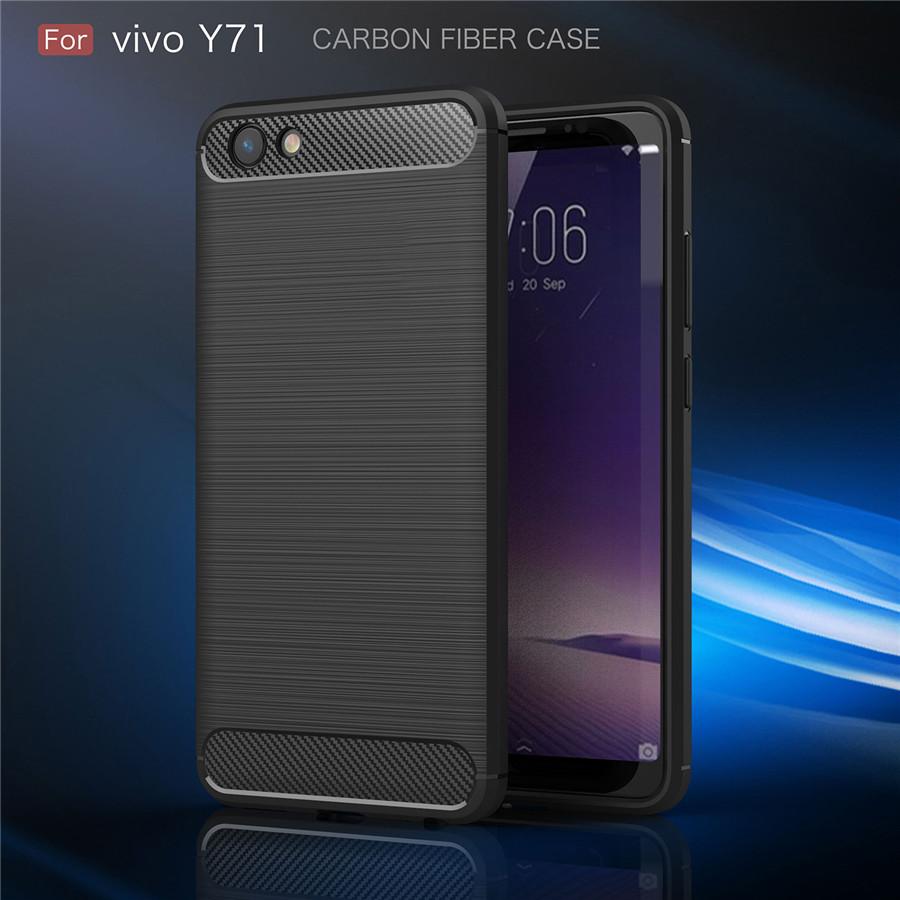 เคสVivo Y71Tpu คาร์บอนไฟเบอร์(ใช้ภาพรุ่นอื่นแทน)