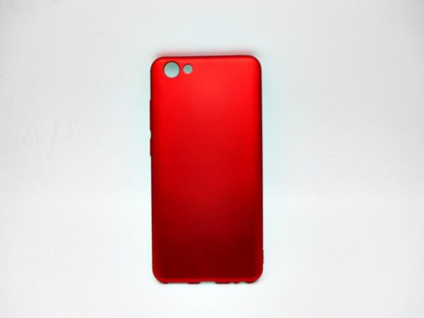 Vivo Y71 เคสนิ่มสีแดงพิเศษเนื้อกำมะหยี